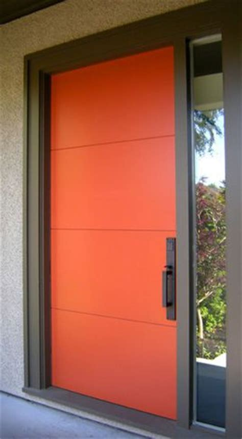 Modern Front Door Colours 17 Best Ideas About Orange Front Doors On Orange Door Colored Front Doors And