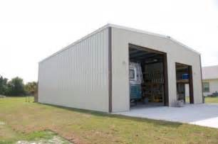 rv storage garage custom prefabricated steel rv boat storage large