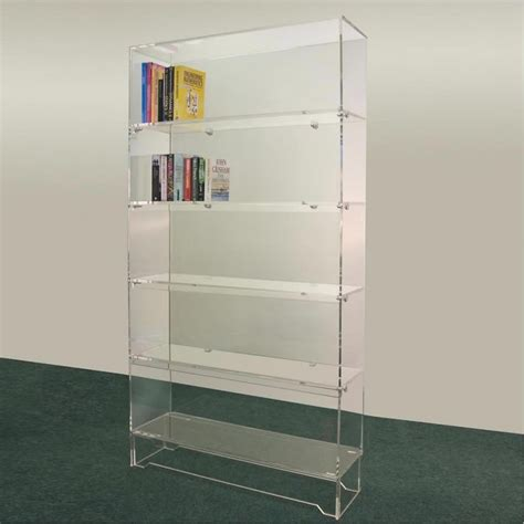 furniture acrylic bookshelf for acrylic bookcase ideas