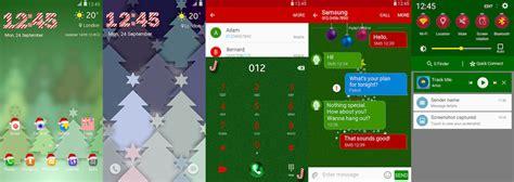 themes christmas for mobile new christmas and thanksgiving themes hit the samsung