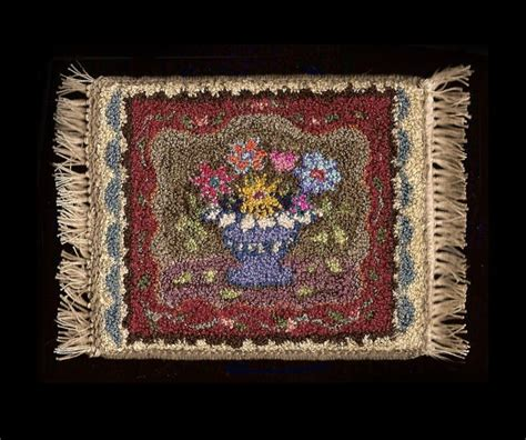 rug punching punch needle rug latch hooking