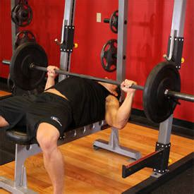 bench press negatives barbell bench press medium grip exercise guide and video