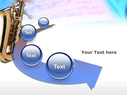 power point themes jazz jazz saxophone powerpoint template backgrounds 00757