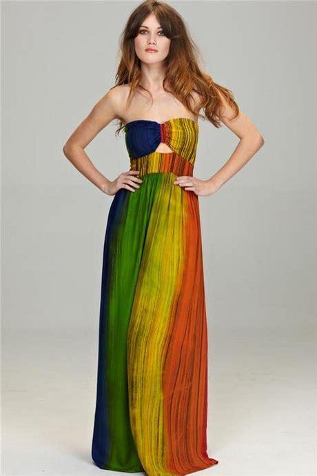 Rainbow Maxy Dress rainbow maxi dresses