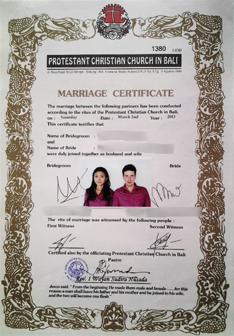 Divorce Letter In Nepali how to get married legally in bali
