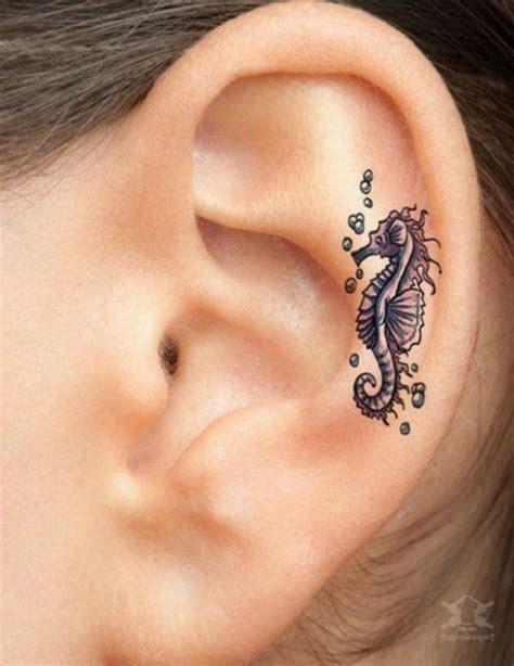 60 pretty designs of ear tattoos 2017