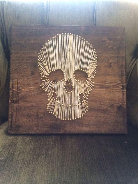 Skull String - string skull by distanceoflove on etsy nail string