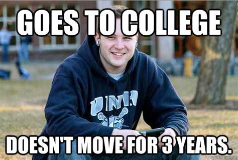 Freshman Memes - college freshman meme guy morphs to successful college
