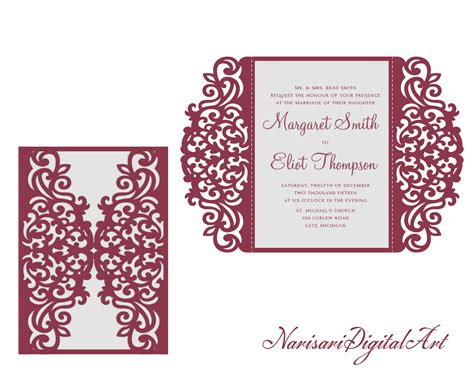 Wedding Invitation Card Cdr by Wedding Card Design Cdr Vector Wedding O
