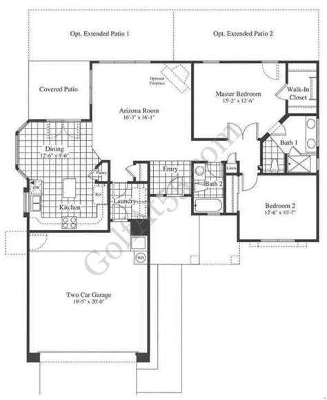 az house plans continental homes floor plans arizona