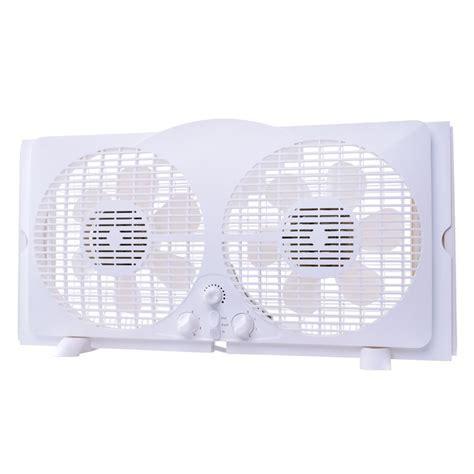 mini reversible window fan 65 watt 9 in white reversible twin window fan wdf9 2
