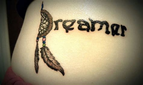 dream catcher tattoo on side side tattoo dream catcher dreamer miiiineeee pinterest