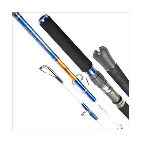 Joran Maguro Barracouta Pe 15 4 jual maguro infinity pe 4 joran jigging perlengkapan pancing blue harga kualitas