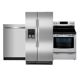 kenmore kitchen appliances kenmore kenmore 3 piece kitchen suite stainless steel