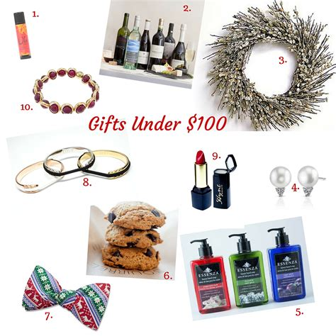 last minute holiday gifts for under 100