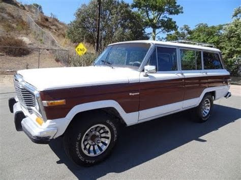 80 jeep grand wagoneer sj 4x4 360 v8 clean 1 or 2