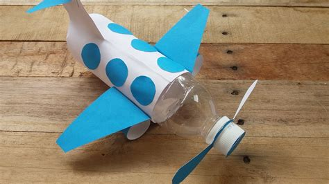 cara membuat rak buku terbang how to make airplane from bottle cara membuat pesawat