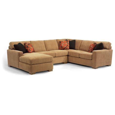 flexsteel 7399 sectional bryant sectional discount