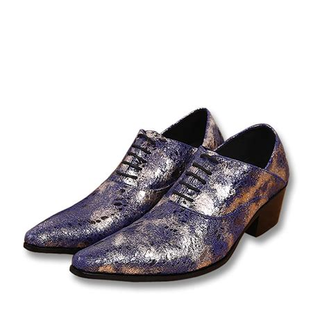 mens leather printed oxfords shoes cw752229