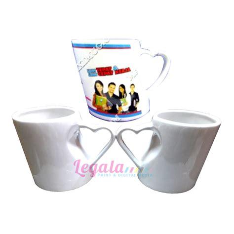 Gelas Keramik White 04 800111047 jual mug bambu hati white legala harga murah surabaya oleh cv aneka media digital