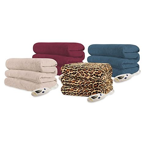 bed bath and beyond throws biddeford blankets 174 micro plush heated throw blanket bed