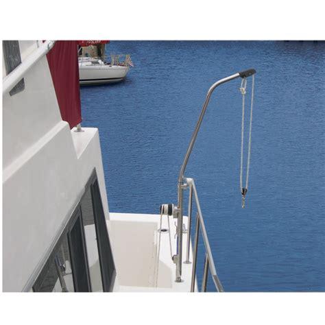 boat winch west marine forespar nova lift with winch west marine