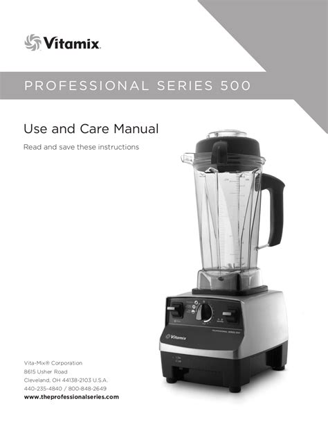 Blender Manual free pdf for vitamix professional 200 blender manual