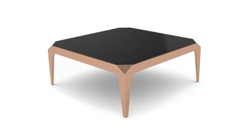 table basse carr 233 e dixies pieds dor 233 s et plateau verre
