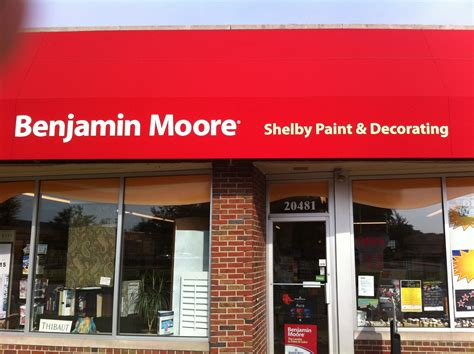 benjamin moore locations shelby paint decorating motor city paint paint store