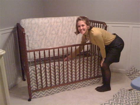 Bed Skirt For Crib Design A Peele How To Make A Crib Bed Skirt