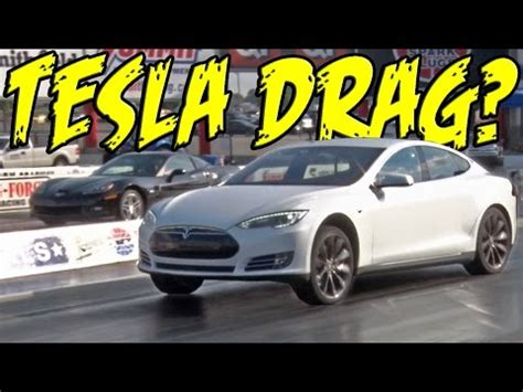 tesla quarter mile tesla dominates quarter mile class dragtimes