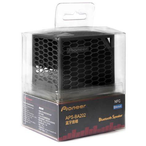 Speaker Bluetooth Pioneer pioneer aps ba202 bluetooth speaker black
