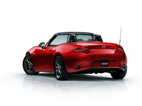 mazda starts production of new mx 5 miata