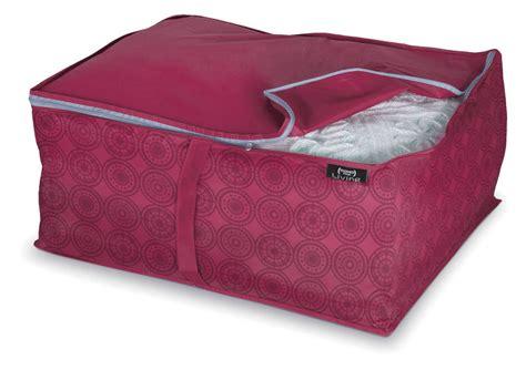 pillow storage 2 x large duvet blanket storage bag clothing laundry