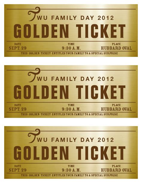 gold ticket template 5 graphic design i a golden ticket
