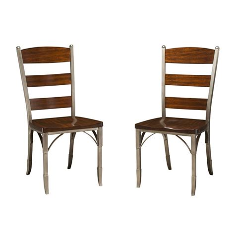 Metal And Wood Dining Chair Metal And Wood Dining Chairs Home Furniture Design