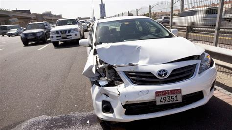 Car Insurance Companies In Abu Dhabi by Of Dh500 In Abu Dhabi If Car Blocks Road After Minor