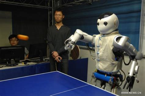 Mainan Anak T2 Smart Robot robot table tennis players designed in e china technology news sina