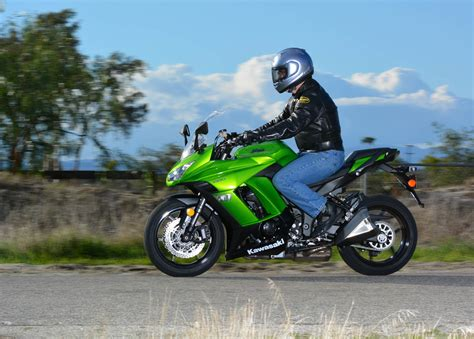 most comfortable motorcycle riding position 2014 kawasaki ninja 1000 abs md ride review