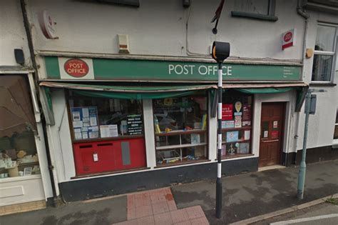 post office hours for ottery st post office proposes move and significantly