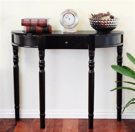 Black Foyer Table Decorating Foyer Table Steveb Interior