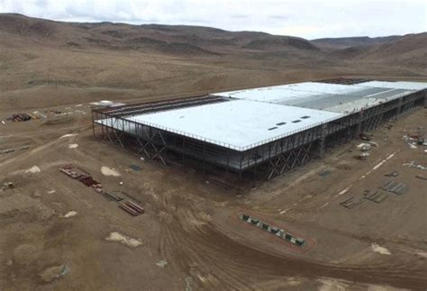 elon musk battery factory take a first look at the gigantic gigafactory tesla is