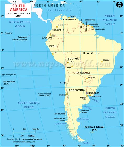 america map with latitude south american lat map world history geography