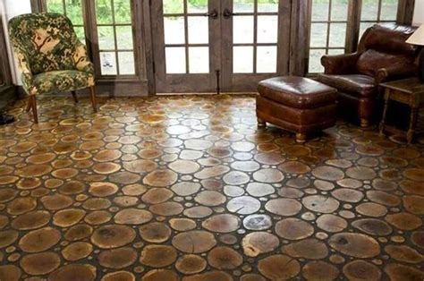 Cord Wood Floor by Cordwood Floor Self Sufficient Lifestyle