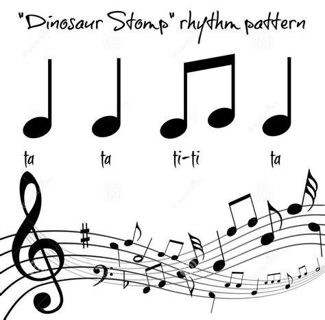 movement pattern activities quot the dinosaur stomp quot movement rhythm patterns in the