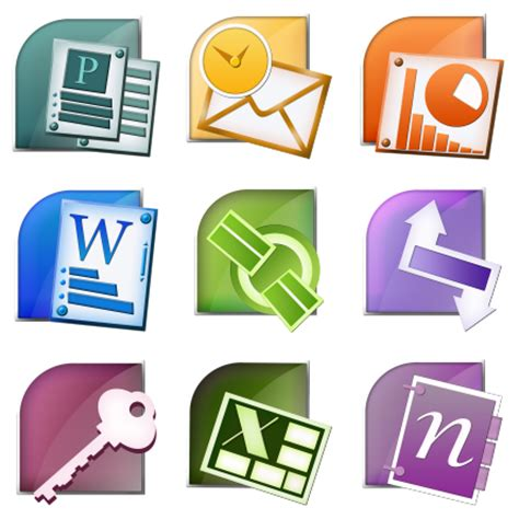 microsoft office suite 9 free icons icon search engine