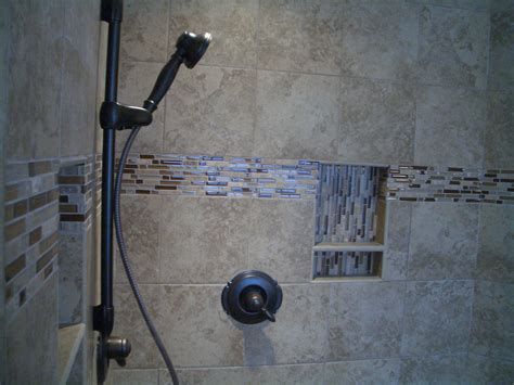 accent tile in shower glass tiles as accents in tile installations