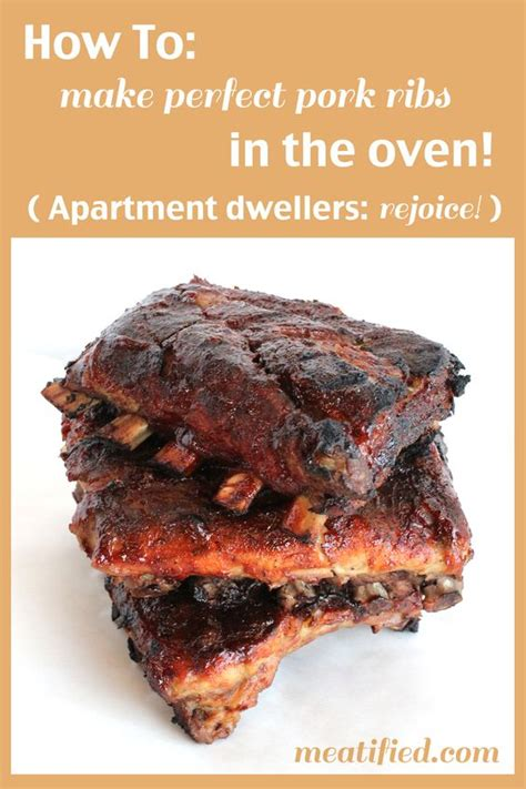 perfect pork ribs how to cook ribs in the oven recipe prepping how to cook and the website