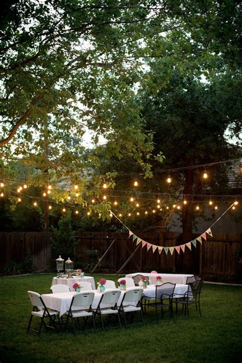 9 amazing ideas for outdoor party lighting certified domestic fashionista backyard birthday fun pink