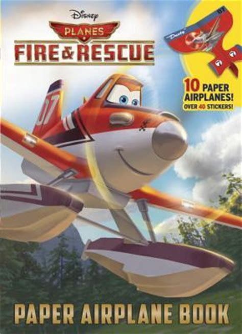 Planes Rescue The Storybook planes rescue paper airplane book disney planes